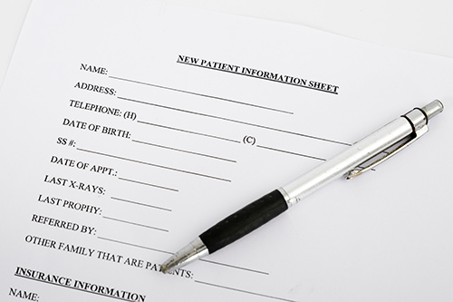 New dental Patient Forms